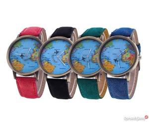 zegarek-glob-mapa-world-map-z-sekundnikiem-chodziez-315116127